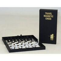Pocket Travel Magnetic Chess Set, White, 1