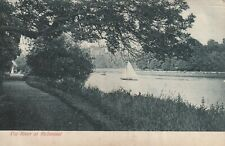 """""""Hundred Year old photo postcard from collection"""" The River at Richmond"""