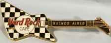 Hard Rock Cafe BUENOS AIRES B&W Checkered Cheap Trick HAMER GUITAR PIN HRC #1392