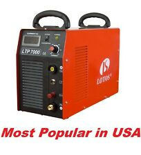 Plasma cutter LTP7000 with Pilot Arc Lotos cut to 32mm with all accessories
