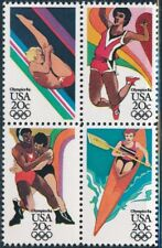 USA - Los Angeles Olympic Games MNH Sports Block #2085a (1984)