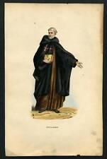 MONACO ARMENO RELIGIEUX ITALIEN  lithographie 19eme