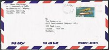 Canada 1980. Cover to UK. Aircraft/Flying Boat/Vickers Vedette.