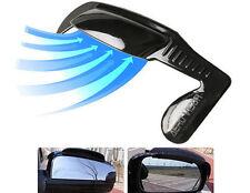 Aero Visor Car Side View Mirror Rain Blower Silver
