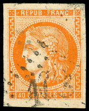 momen: FRANCE Stamps Maury #48 Scott #47 Used SUPERB