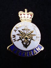 HM Armed Forces Veterans Military Lapel Pin Badge ARMY,GUARDS,PARA,RAF,RN,RM,SBS