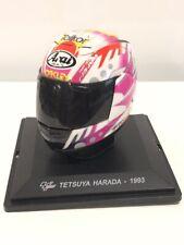 casque motogp tetsuya harada 1993 1/5 collection altaya neuf boite plexi