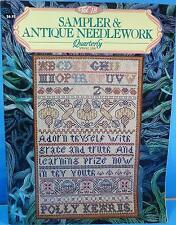 Vol 18 Sampler & Antique Needlework Quarterly Magazine SANQ