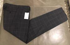 NWT Paul Smith London Italy MAYFAIR Slim Fit Mens 100% Wool Pants 50 33-34 $460