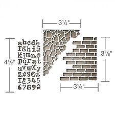 Tim Holtz Sizzix Altérations Collection Thinlits PATRON Mélange média 3 661186