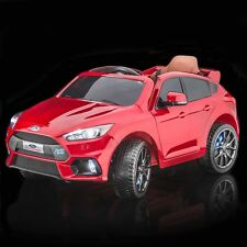 SPORTrax Licensed Ford Focus RS Kids Ride on Car, w/FREE MP3 Player - Red