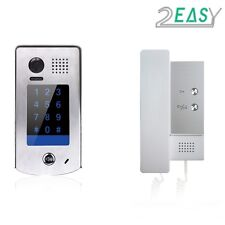 TWO EASY AUDIO INTERCOM WITH KEYPAD INTERCOM FOR GATE AUTOMATION