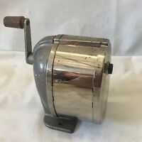 Vintage Boston Model L Manual Crank Pencil Sharpener - Desk or Wall Mount - E05
