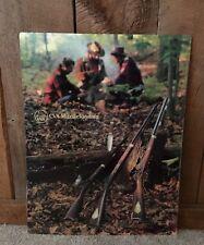 Vintage Hunting Muzzleloading Rifle CVA Advertising Sign Heavy Plastic