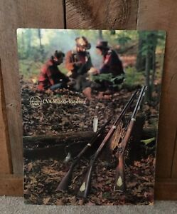 Vintage Hunting Muzzleloading Rifle CVA Advertising Sign Heavy Plastic