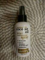 OLIOLOGY~COCONUT OIL~10-IN-1 MULTIPURPOSE SPRAY~HAIR LEAVE IN TREATMENT 4 OZ
