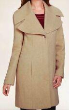 M&S Per Una Carmel SZ 16 Large Notch Lapel Coat with Wool, BNWT, Was £89