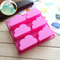 Mold Soap Wax Mould Ice Cake Jelly Mousse Chocolate Cube Baking Cloud Tray 3D