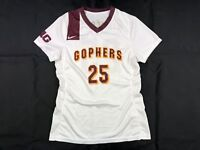 Minnesota Golden Gophers Nike Jersey Women's White Poly Used Multiple Sizes
