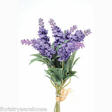 Artificial Lavender Bundle Six Purple Blooms 34cm/13 Inches