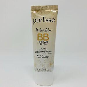 Purlisse Perfect Glow BB Cream SPF 30 TAN Full Size 1.4oz SEALED NWOB Exp 02/23