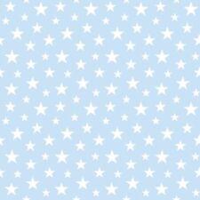 Everybody Bonjour 138729 Rasch Textil Kinder Vlies Tapete Sterne hell blau weiß