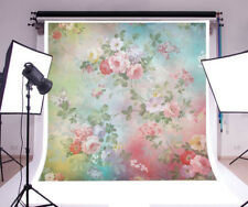 Flower color newborn baby Photography Backgrounds 6x6ft Vinyl Photo Backdrops