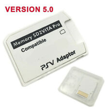 V5.0 SD2VITA PSVSD Micro SD Card Adapter Up to 256GB For PS Vita Henkaku 3.60