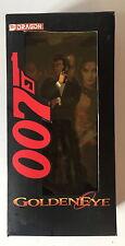 "Dragon 38001 James Bond 007 Pierce Brosnan GOLDENEYE 1:9 Action Figure 8"" ~ in Scatola"