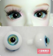 16mm  For BJD DOD AOD MK OK RD Doll Dollfie Glass Eyes Outfit blue 01