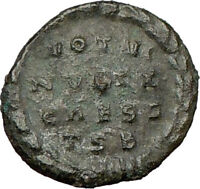 CONSTANTINE II Constantine the Great son Ancient Roman Coin Wreath i22058