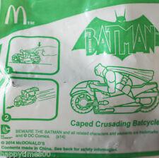 2014 McDonald's Happy Meal Toys - Batman Caped Crusading Batcycle Toy Figure NIP
