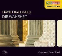 Hörbuch David Baldacci *Die Wahrheit* 5 CD's ADAC Krimi Roman Gunter Schoß liest