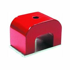 Strong Red Alnico Horseshoe Magnet 30 lb Capacity Pull Power Alnico Tool Magnet