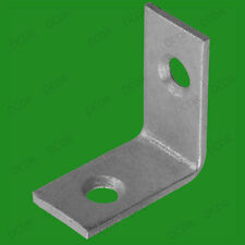"""10x 25mm (1"""") Corner Braces, L Shaped Right Angle Support Fixing Repair Brackets"""