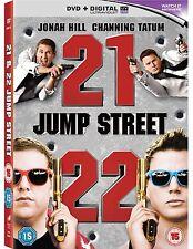 21 Jump Street & 22 Jump Street DVD Box Set New Channing Tatum & Jonah Hill R4