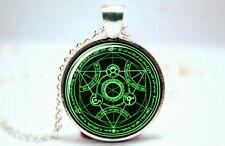 Fullmetal Alchemist - Transmutation Circle -  Photo Glass Dome Necklace Pendant