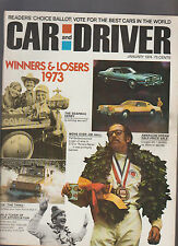 Car & Driver Magazine January 1974 Soapbox Derby Pat Bedard VW The Thing