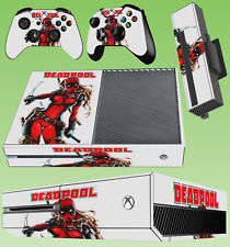 XBOX ONE Console AUTOCOLLANT Lady Deadpool sexy MERCENARY Wanda 01 Skin & 2 Pad