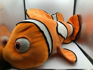 Jumbo Hasbro 2002 Finding Nemo Disney Pixar Fish Plush Kids Stuffed Toy Animal