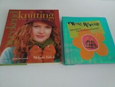 Lot Of 2 Books..Weekend Knitting And Retro Revamp
