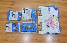 Power Rangers Bedding Set Sheet Set Twin Size Vtg 1994 Saban Comforter Blanket