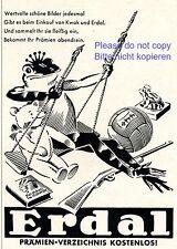 Schuhpflege Erdal Reklame von 1930 Prämien Schaukel Kwak Frosch Teddy Ball +