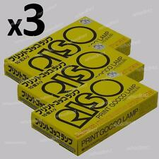3 x RISO Print Gocco Lamps (flash bulbs) for B6, B5, PG-5, PG-11 - 30 lamps