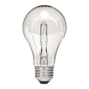 Satco S2401 Halogen Excel Light Bulb 29W 120V ( 12 Bulbs Total )