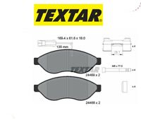 2446901 Kit pastiglie freno a disco Citroen-Fiat-Peugeot (MARCA-TEXTAR)