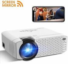 Projector Crosstour Portable Mini Screen Mirroring 1080P Support...