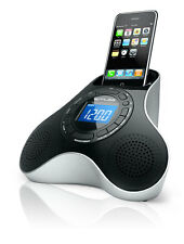 Muse M-105 IP Uhrenradio iPhone iPod Dockingstation Dual-Alarm AUX-Eingang NEU