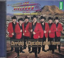 Los Rieleros Del Norte Corridos y Canciones De Mi Tierra CD New