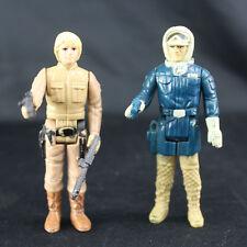 Vintage 1980 Kenner Star Wars Bespin Luke Skywalker & Hoth Han Solo w/Blasters